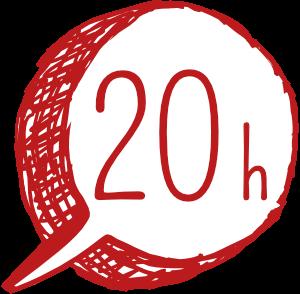 20 h business English